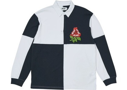 Palace Rugger Bugger Rugby White/Navy (SS21)の写真