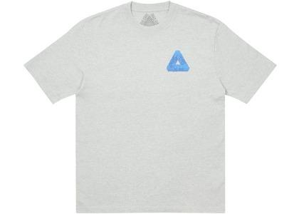 Palace Tri-Slime T-Shirt Grey Marl (SS21)の写真