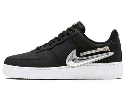 Nike Air Force 1 '07 Black Zipperの写真