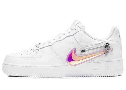 Nike Air Force 1 '07 White Zipperの写真