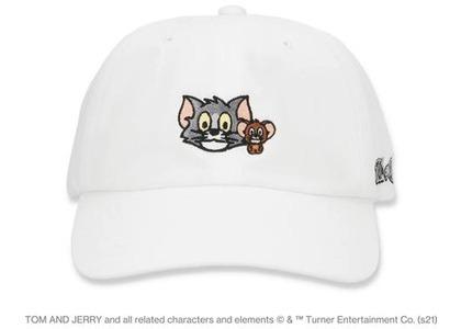 BAPE x Tom and Jerry Cap White (SS21)の写真