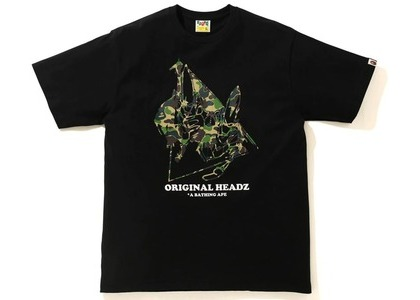 BAPE x UNKLE POINTMAN Logo T-Shirt Black (SS21)の写真