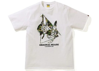 BAPE x UNKLE POINTMAN Logo T-Shirt White (SS21)の写真