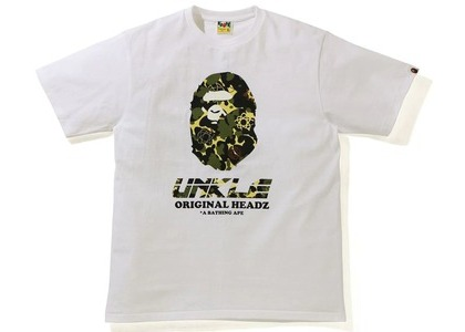 BAPE x UNKLE T-Shirt White (SS21)の写真