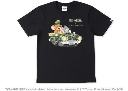 BAPE x Tom and Jerry Cruising Womens Tee Black (SS21)の写真