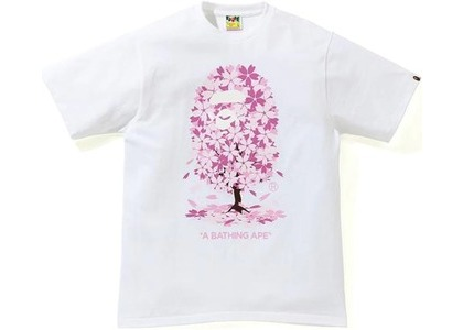 BAPE Sakura Tee White (SS21)の写真