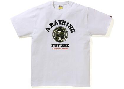 BAPE x FUTURE Tee White (SS21)の写真