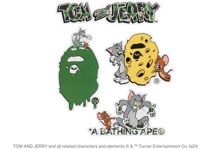 BAPE x Tom and Jerry Sticker Set Multi (SS21)の写真