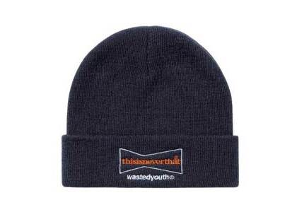 This is Neverthat × Wasted Youth Beanie Blackの写真