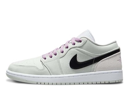 Nike Air Jordan 1 Low Barely Green Womens