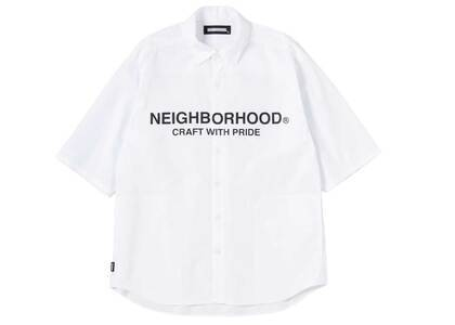 Neighborhood Trad C-Shirt 3Q Whiteの写真