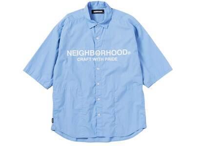 Neighborhood Trad C-Shirt 3Q Blueの写真