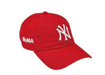 MoMA × New Era NY Yankees Cap MoMA Edition Redの写真