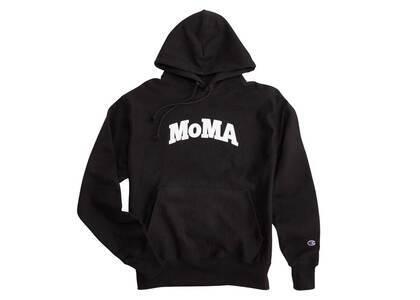 MoMA × Champion Hoodie Blackの写真