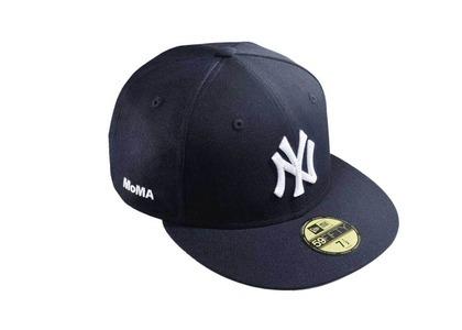 MoMA × New Era NY Yankees 59Fifty  MoMA Edition Navyの写真