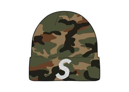 Supreme New Era Swarovski S Logo Beanie Camo (SS21)の写真