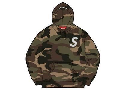 Supreme Swarovski S Logo Hooded Sweatshirt Camo (SS21)の写真