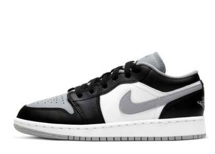Nike Air Jordan 1 Low Black Smoke Grey (GS)の写真