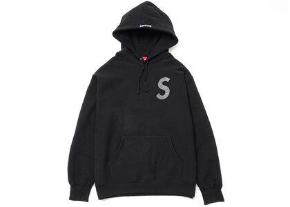 Supreme Swarovski S Logo Hooded Sweatshirt Black (SS21)の写真