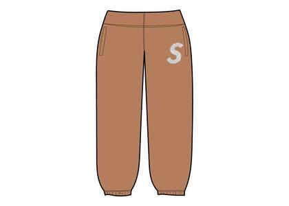 Supreme Swarovski S Logo Sweatpant Brown (SS21)の写真