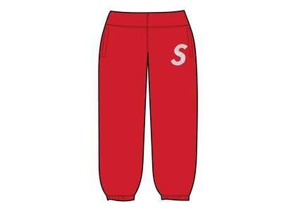 Supreme Swarovski S Logo Sweatpant Red (SS21)の写真
