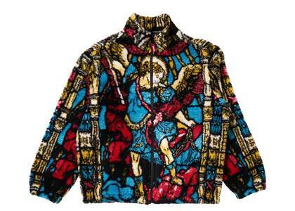 Supreme Saint Michael Fleece Jacket Multi (SS21)