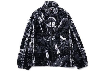 Supreme Saint Michael Fleece Jacket Black (SS21)の写真