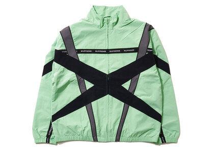 Supreme Cross Paneled Track Jacket Mint (SS21)の写真