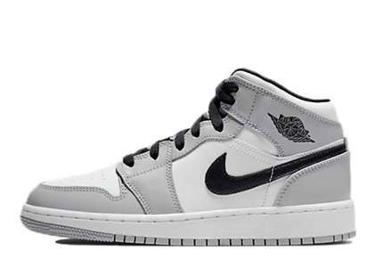 Nike Air Jordan 1 Mid Light Smoke Grey (GS)の写真