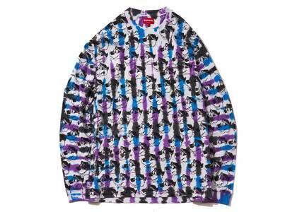 Supreme Dyed Bear L/S Top Blue/Purple (SS21)の写真