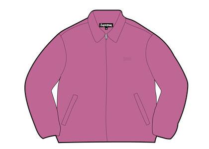 Supreme Suede Harrington Jacket Pink (SS21)の写真