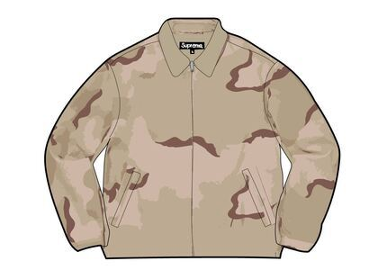 Supreme Suede Harrington Jacket Desert Camo (SS21)の写真