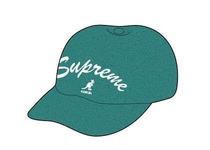 Supreme Kangol Bermuda Spacecap Green (SS21)の写真