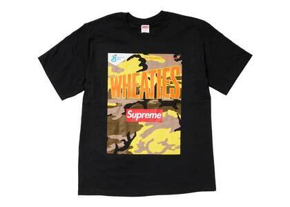 Supreme Wheaties Tee Black (SS21)の写真
