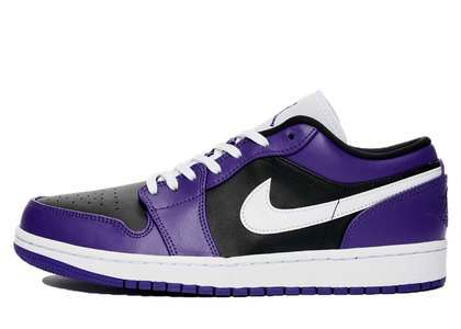 Nike Air Jordan 1 Low Black Purpleの写真