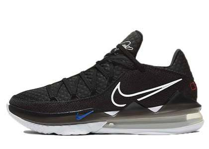 Nike LeBron 17 Low Black Multiの写真