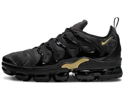 Nike Air VaporMax Plus Black Anthracite Metallic Goldの写真