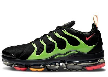 Nike Air VaporMax Plus Black Electric Greenの写真