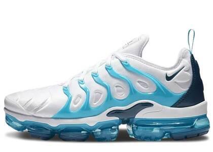 Nike Air VaporMax Plus White Blue Force Blue Furyの写真