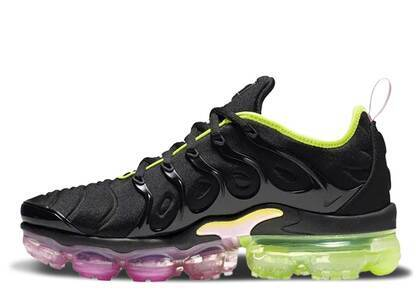 Nike Air VaporMax Plus Black Pink Rise Volt Womensの写真
