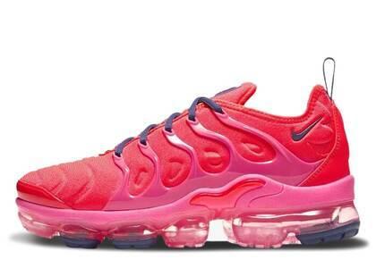 Nike Air VaporMax Plus Bright Crimson Pink Blast Womensの写真
