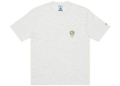 Palace x Reebok NPC Pocket T-Shirt Light Grey Marl (SS21)の写真