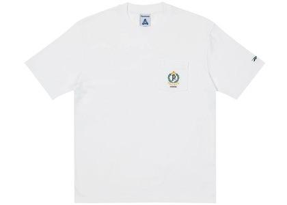 Palace x Reebok NPC Pocket T-Shirt White (SS21)の写真