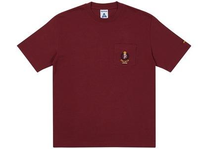 Palace x Reebok NPC Pocket T-Shirt Burgundy (SS21)の写真
