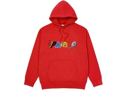 Palace Multi Hood Sweatshirt Red (SS21)の写真