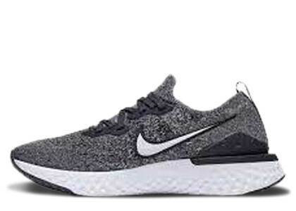 Nike Epic React Flyknit 2 Black Anthracite GSの写真