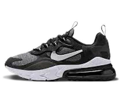 Nike Air Max 270 React Black Vast Grey GSの写真