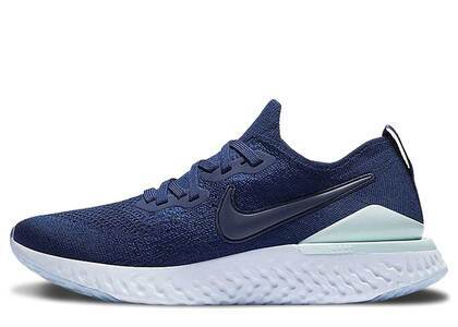 Nike Epic React Flyknit 2 Blue Void Womensの写真