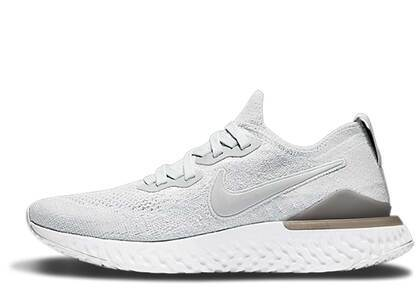 Nike Epic React Flyknit 2 Pure Platinum Womensの写真