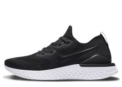 Nike Epic React Flyknit Black Racer Blue Womensの写真